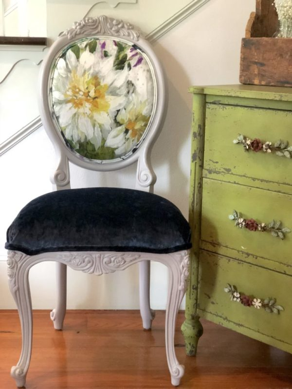 Charley Floral 2 Chair