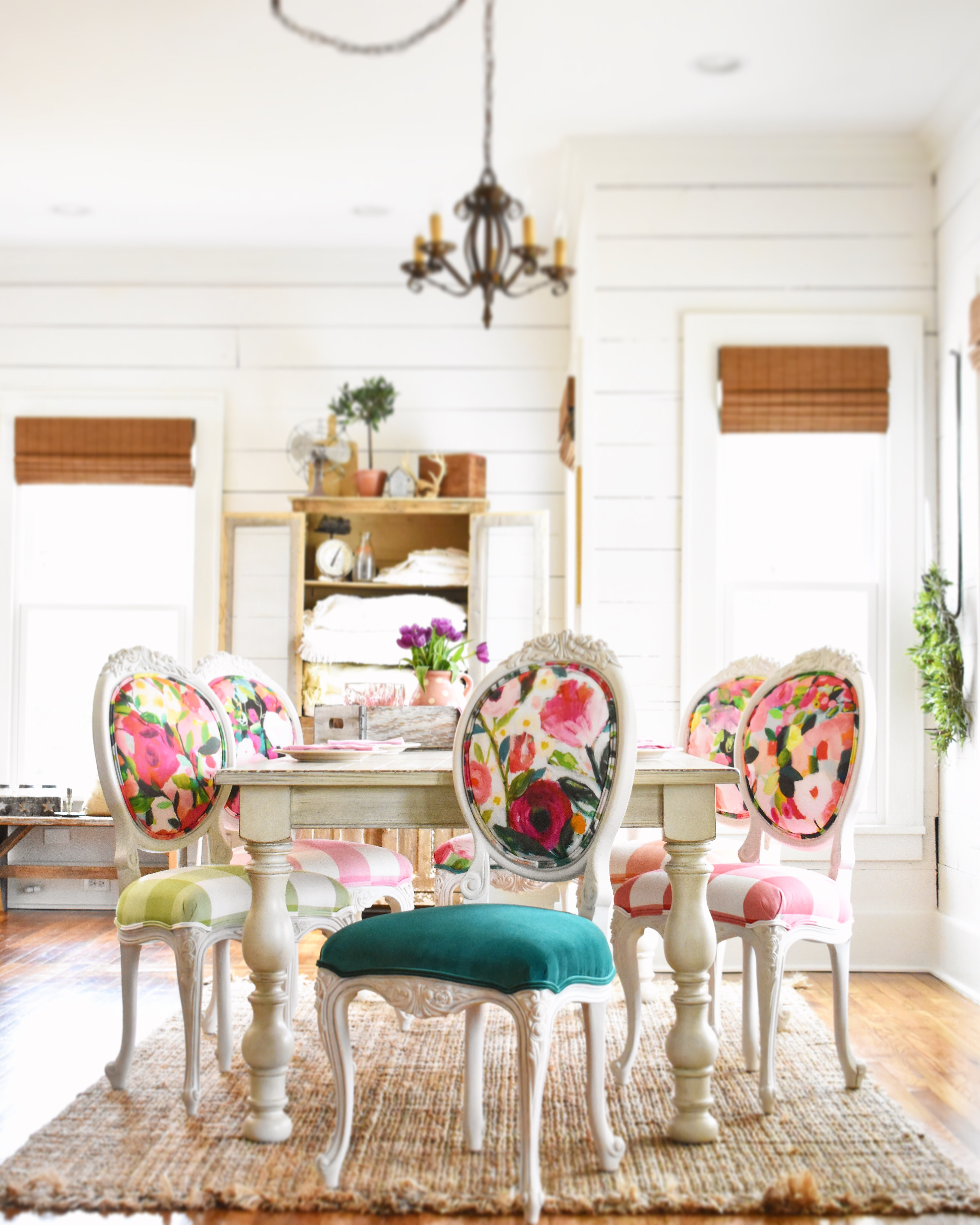 One Dining Room 3 Ways Chair Whimsy
