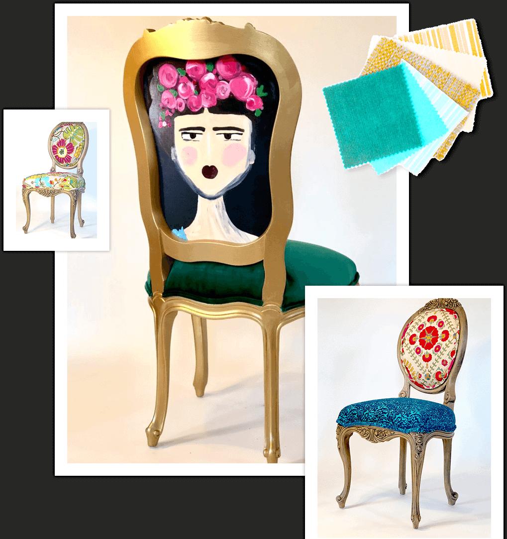frida kahlo chair designs
